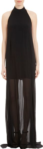 Theyskens' Theory Halter Daller Dress - Lyst