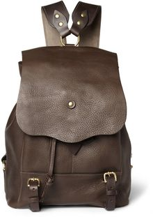Bill Amberg Hunter Full Grain Leather Backpack - Lyst