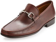Magnanni Brion Bitbuckle Loafer Mid Brown - Lyst