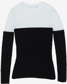 Yigal Azrouel Colorblock Mesh Knit - Lyst