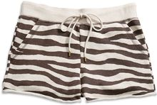 Michael by Michael Kors Zebra Print Terry Cloth Shorts - Lyst
