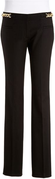 Michael by Michael Kors Skinny Dress Pants with Hardware Accents - Lyst