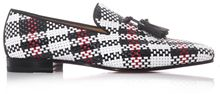 Christian Louboutin Dada Woven Leather Loafers - Lyst