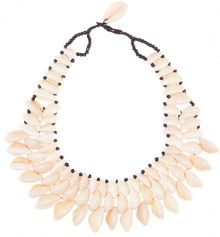 By Malene Birger Rarina Seashell Necklace - Lyst