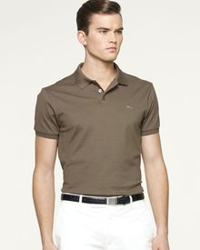 Ralph Lauren Black Label Mercerized Stretchmesh Polo - Lyst