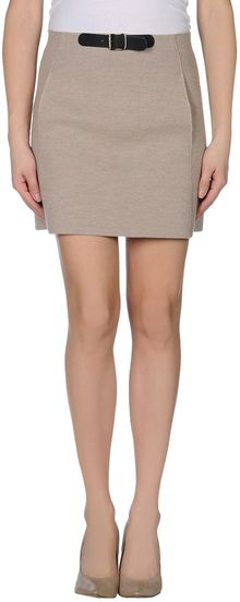 Blumarine Mini Skirt - Lyst