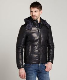 Etro Quilted Lambskin and Down Filled Hooded Coat - Lyst