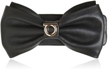 Ferragamo Leather Hair Bow - Lyst