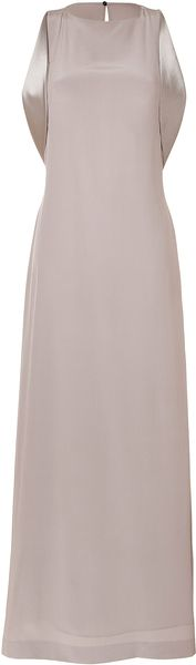 Maison Martin Margiela Sleeveless Open Back Gown - Lyst