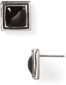 Ralph Lauren Deco Style Stud Earrings - Lyst