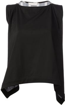 Dondup Rear Tie Top - Lyst