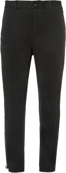 Alexander McQueen Slimfit Cotton and Cashmereblend Jersey Trousers - Lyst