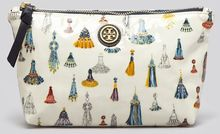 Tory Burch Cosmetic Case Small Slouchy - Lyst