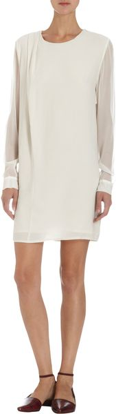 Thakoon Addition Long Sleeve Drape Dress - Lyst