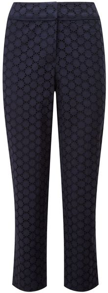 Cc Circle Broderie Trousers - Lyst