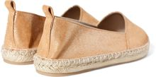 Zara Shiny Leather Slipon with Espadrille Sole - Lyst