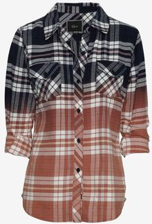 Rails Exclusive Ombre Plaid Pattern Shirt - Lyst