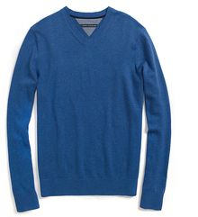 Tommy Hilfiger Cotton Cashmere V- Neck Sweater - Lyst