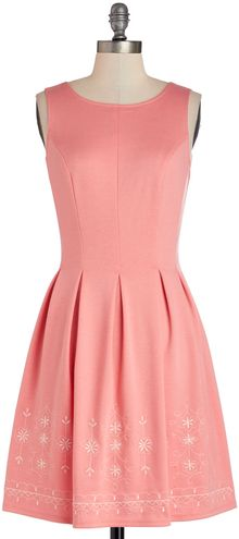ModCloth Seaside Sorbet Dress - Lyst
