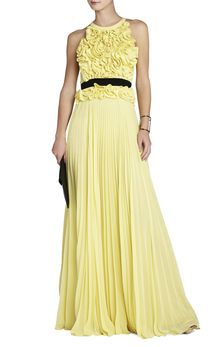 BCBGMAXAZRIA Calida Sleeveless Gown - Lyst