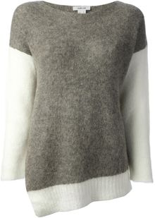 Helmut Lang Brushed Alpaca Sweater - Lyst