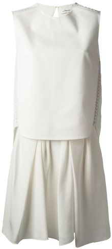 3.1 Phillip Lim Flared Hem Dress - Lyst