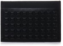 Balenciaga Grid Leather Card Holder - Lyst