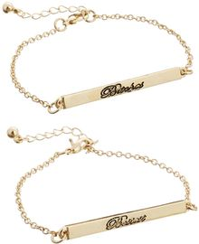 Asos Bestest Bitches Bracelet Pack - Lyst