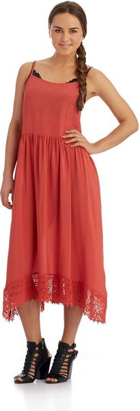 Free People Solid Maxi Dress - Lyst