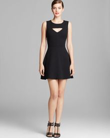 French Connection Dress Feather Ruth Classics Cut Out - Lyst