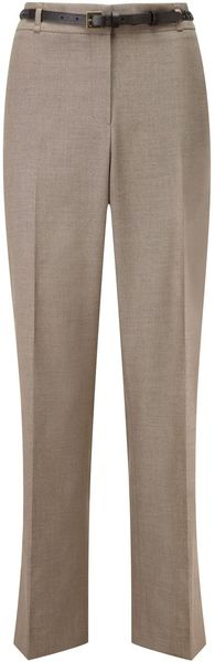 Cc Neutral Belted Trousers Regular - Lyst