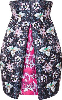 Mary Katrantzou Faby Hola Printed Satintwill Pleated Dress - Lyst