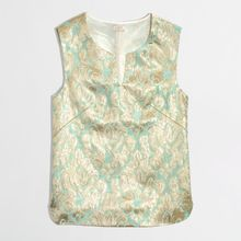 J.Crew Factory Gilded Jacquard Top in Brocade - Lyst
