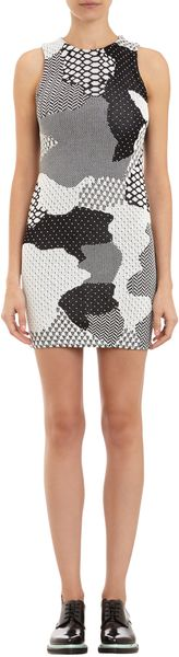 Opening Ceremony Abstract Jacquard Sleeveless Dress - Lyst