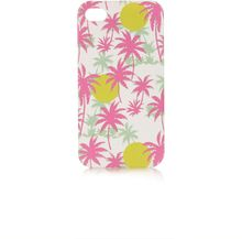 Topshop Palm Tree Iphone 4 Shell - Lyst