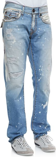 True Religion Ricky Super T Sail Away Jeans - Lyst
