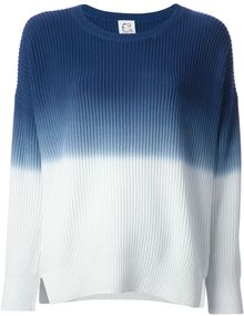 Cats By Tsumori Chisato Bicolour Knit Sweater - Lyst