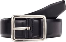 Barneys New York Spazzolato Leather Reversible Belt - Lyst