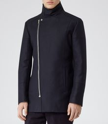 Reiss Rockwell Aysemetric Zip Jacket - Lyst