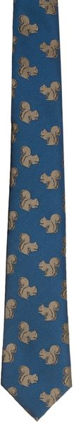 Asos Tie with Squirrels - Lyst