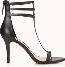 Forever 21 Sleek Tstrap Sandals - Lyst
