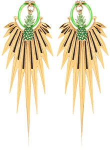 Manish Arora Elma Metal Gold Plated Earrings - Lyst