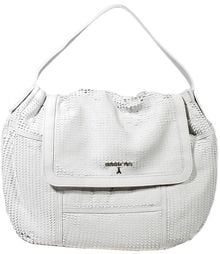 Patrizia Pepe Handbag with Flap Shoulder Leather Traforata - Lyst