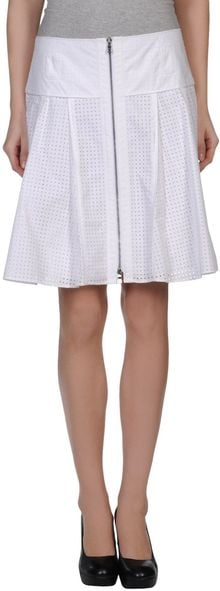 Proenza Schouler Knee Length Skirt - Lyst