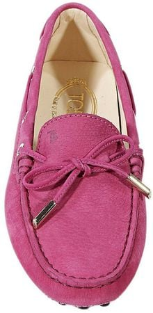 Tod's Shoes Loafer Heaven Nabuk Strings - Lyst