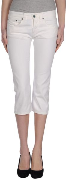 Dondup Denim Capris - Lyst