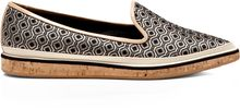 Nicholas Kirkwood Leather and Jacquard Pointedtoe Loafers - Lyst