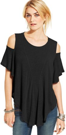 Free People Cutout Top - Lyst