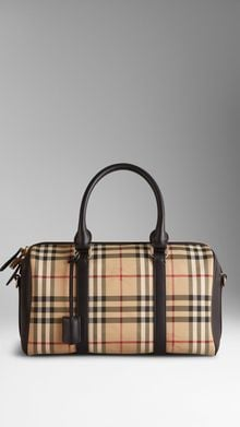 Burberry Medium Horseferry Check Bowling Bag - Lyst