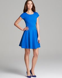 Diane Von Furstenberg Dress Delyse Fit and Flare - Lyst